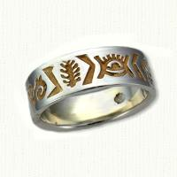 Custom African Wedding Bands
