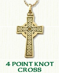 4 Point Knot Cross