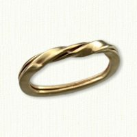 2 strand Betrothal Ring