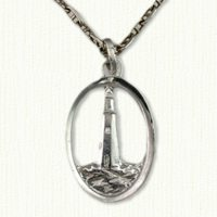 Buffalo Lighthouse Pendant