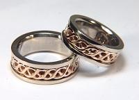 Carlow Knot wedding ring