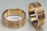 Ennis Block Wedding rings