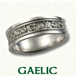 Gaelic Knot Wedding Bands