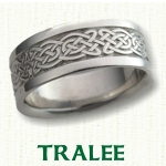 Tralee Knot Celtic Wedding Rings