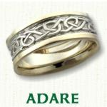 Adare Knot Celtic Wedding Rings