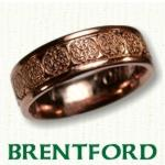 Brentford Knot Celtic Wedding Bands
