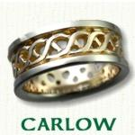 Carlow Knot Celtic Wedding Bands
