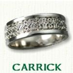 Carrick Knot Celtic Wedding Rings