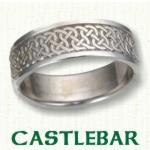 Castlebar Knot Celtic Wedding Bands