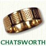 Chatswork Knot Celtic Wedding Rings