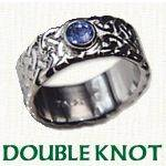 Double Knot Celtic Wedding Rings