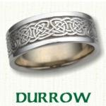 Durrow Knot Celtic Wedding Bands