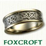 Foxcroft Celtic Wedding Rings