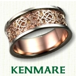 Kenmare Knot Celtic Wedding Bands
