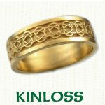 Kinloss Celtic Wedding Bands