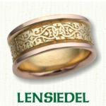 Lensiedel Knot Celtic Wedding Bands