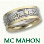 McMahon Knot Celtic Wedding Rings