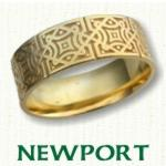 Newport Knot Celtic Wedding Rings