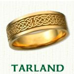 Tarland Knot Celtic Wedding Bands