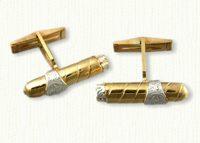 Cigar cuff links
