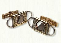 Cigar Cutter Cuff Links
