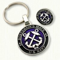 Sterling silver Key Tag and Tie Tack