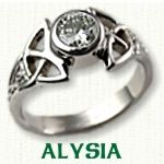 Celtic Alysia Engagement Ring