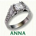 Celtic Anna Engagement Ring