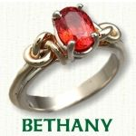 Celtic Bethany engagement Ring