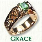 Grace Engagement Ring - celtic