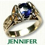 Jennifer Engagement Ring - Celtic