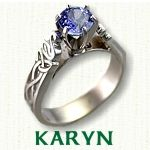 Karyn Engagement Ring - Celtic