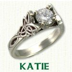 Katie Engagement Ring - Celtic