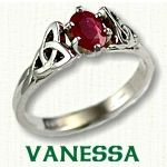 Vaness Engagement Ring - Celtic