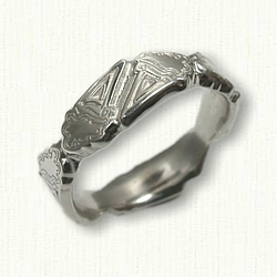 Sterling Silver Sculpted Ice Cream Cone Ring