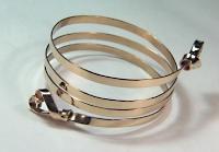 14KY Coil Bracelet