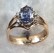 Oval Celyon Sapphire Ring