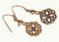 Michelle Knot Earrings