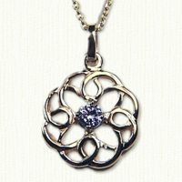 Michelle Celtic knot attendants pendant