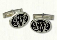 6 Pence cuff links