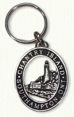 Sterling silver Chantry Island Key Tag