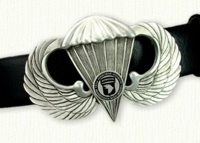 Airborne Wings Belt Buckle