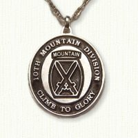 10th Mountain Division Medallion (E Size)