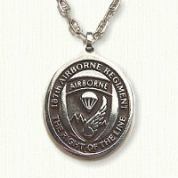 187th Airborne Medallion (C size)