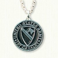 1st Cavalry - round medallion