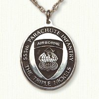 555th Airborne Medallion (E size)