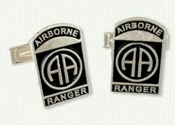 82nd Airborne Ranger Cufflinks