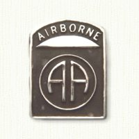 82nd Airborne Rectangular Pin