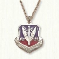 Air Combat Command Medallion - enameled