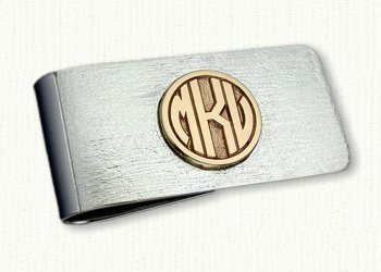 Monogram Money Clips
